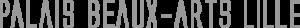 Logo du palais de Beaux-Arts de Lille